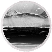 Nocternal Devine Round Beach Towel