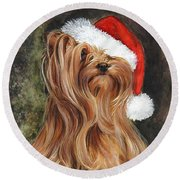 Noel Round Beach Towel