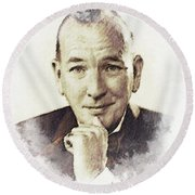 Noel Coward Round Beach Towel