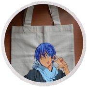 Norogami/yato Canvas Bag Round Beach Towel