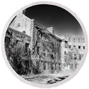 Norristown State Hospital Round Beach Towel