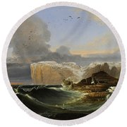 North Cape Round Beach Towel