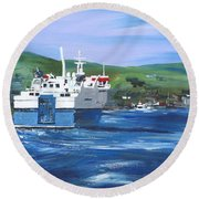 North Link - Stromness Round Beach Towel