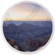 North Rim Sunrise 2 - Grand Canyon National Park - Arizona Round Beach Towel