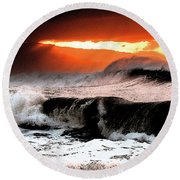 North Shore Round Beach Towel