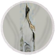 Northern Bliss Round Beach Towel
