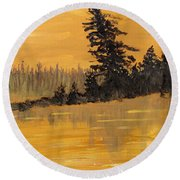 Northern Ontario Three Round Beach Towel