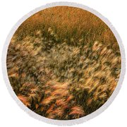Northern Summer Round Beach Towel