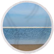 Northsea Panorama Round Beach Towel