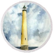 Northwood Lighthouse Round Beach Towel