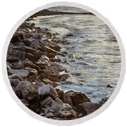 Nostalgic Foam Round Beach Towel