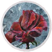 Not Every Rose Is Perfect Round Beach Towel