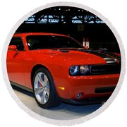 Not Just Another Challenger Round Beach Towel