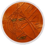 Not Today - Tile Round Beach Towel