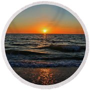 Nothing More To Say Round Beach Towel