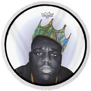 Notorious Round Beach Towel