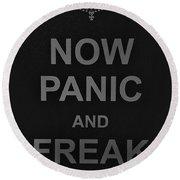 Now Panic 30 Round Beach Towel