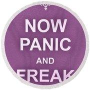 Now Panic 7 Round Beach Towel