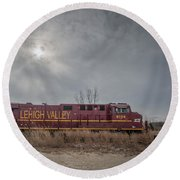 Ns 8104 Lehigh Valley At Booneville In Round Beach Towel