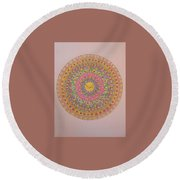 Nuba Round Beach Towel