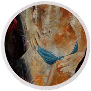Nude 450608 Round Beach Towel