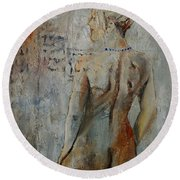 Nude 459020 Round Beach Towel