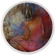 Nude 569090 Round Beach Towel