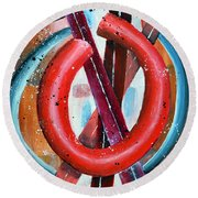 O Round Beach Towel
