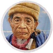 O Mr Mountain Baguio Round Beach Towel