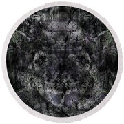 Oa-6035 Round Beach Towel