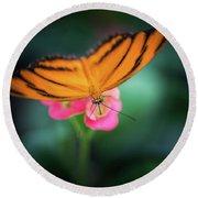 Oak Tiger Butterfly- 2 Round Beach Towel
