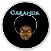 Oakanda  Round Beach Towel
