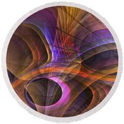 Object Lesson Round Beach Towel