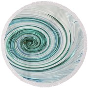 Ocean Blue Whip Round Beach Towel