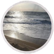 Ocean City  Round Beach Towel