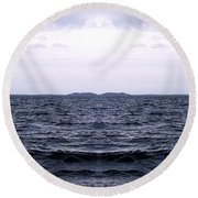 Ocean Double Round Beach Towel