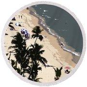 Ocean Paradise Round Beach Towel