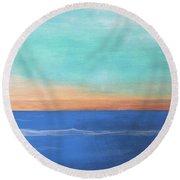Ocean Round Beach Towel