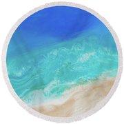 Ocean Series 02 Round Beach Towel