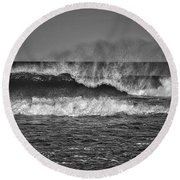 Ocean Spray Round Beach Towel