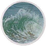 Ocean Wave 3 Round Beach Towel