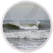 Ocean Wave Round Beach Towel