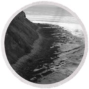 Oceans Edge Round Beach Towel