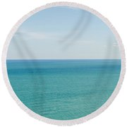 Oceans Of Time Round Beach Towel