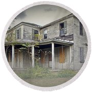Odenton House Round Beach Towel by Brian Wallace