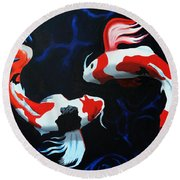 Odori Round Beach Towel