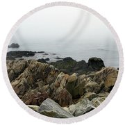 Of Nature And Beyond Round Beach Towel