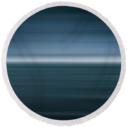 Of The Sea Round Beach Towel