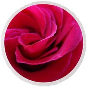 Office Art Rose Spiral Art Pink Roses Flowers Giclee Prints Baslee Troutman Round Beach Towel