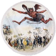 Office Hunters Of 1834: Round Beach Towel